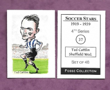 Sheffield Wednesday Ted Cattlin 37 (FC)